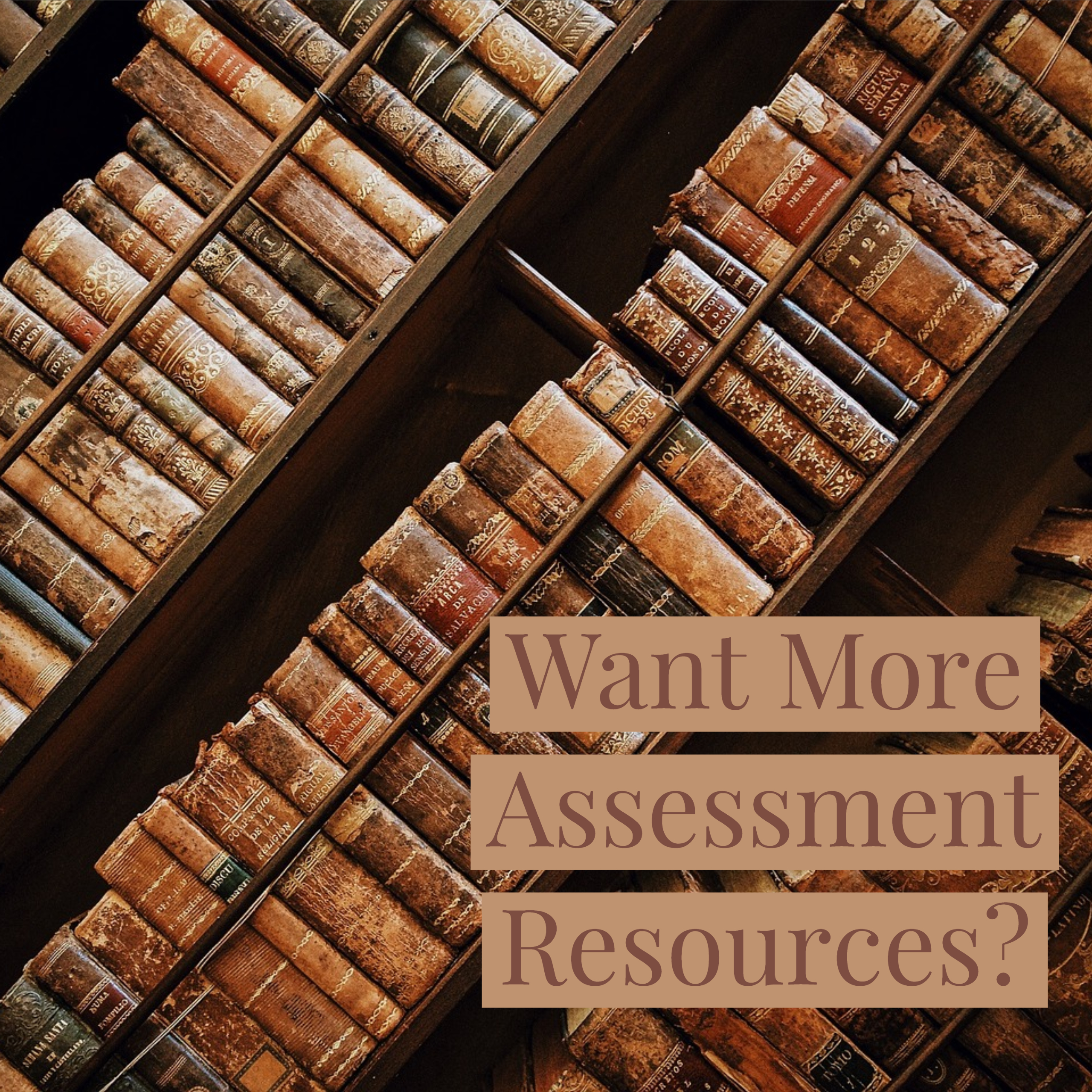 More Assessment Resources