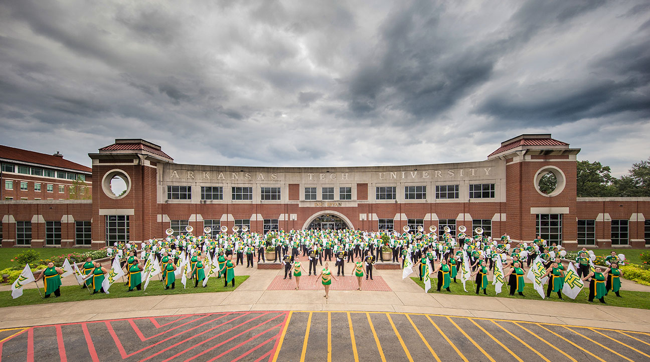 the arkansas tech band of distinction