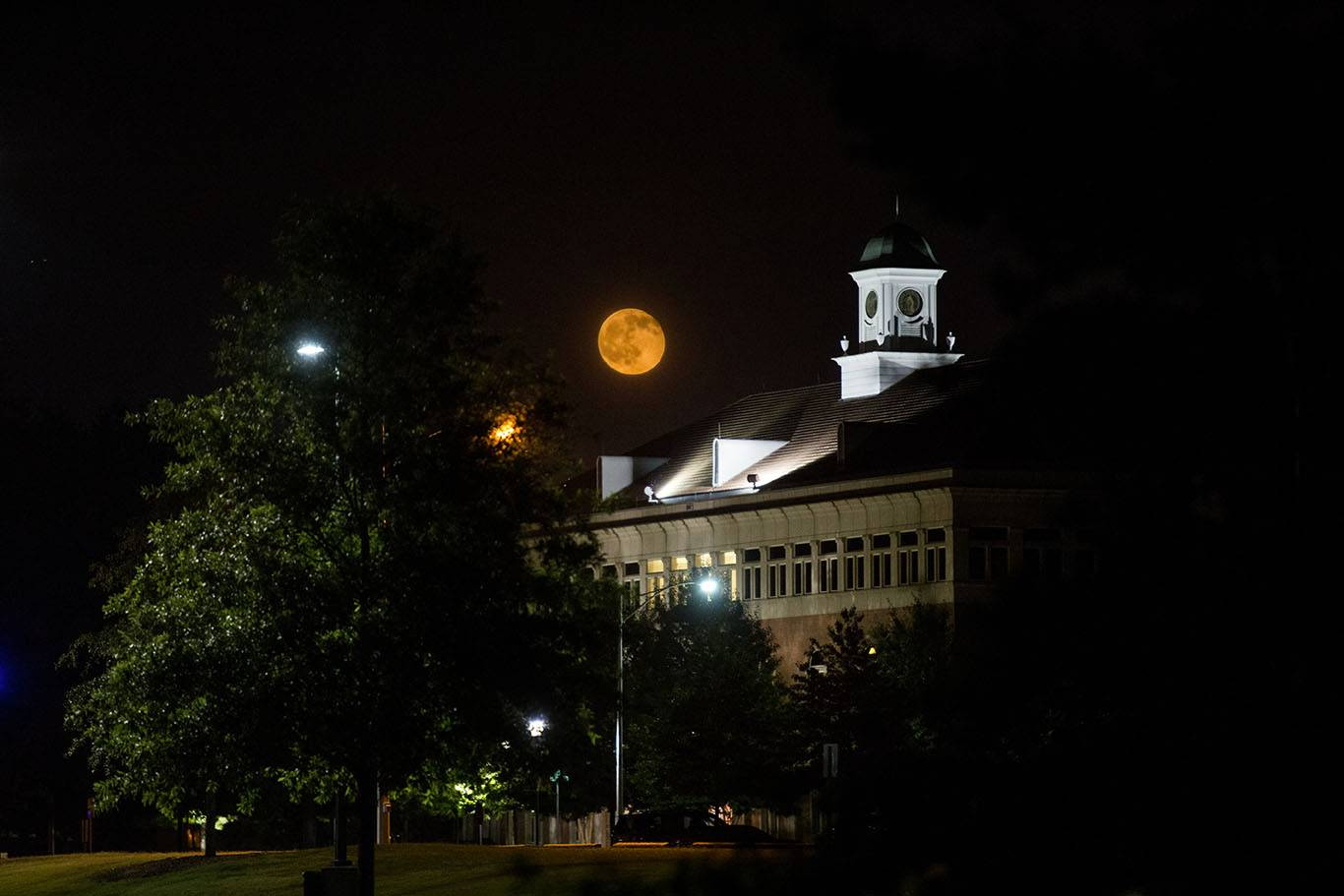 ATU Campus Nighttime Photo