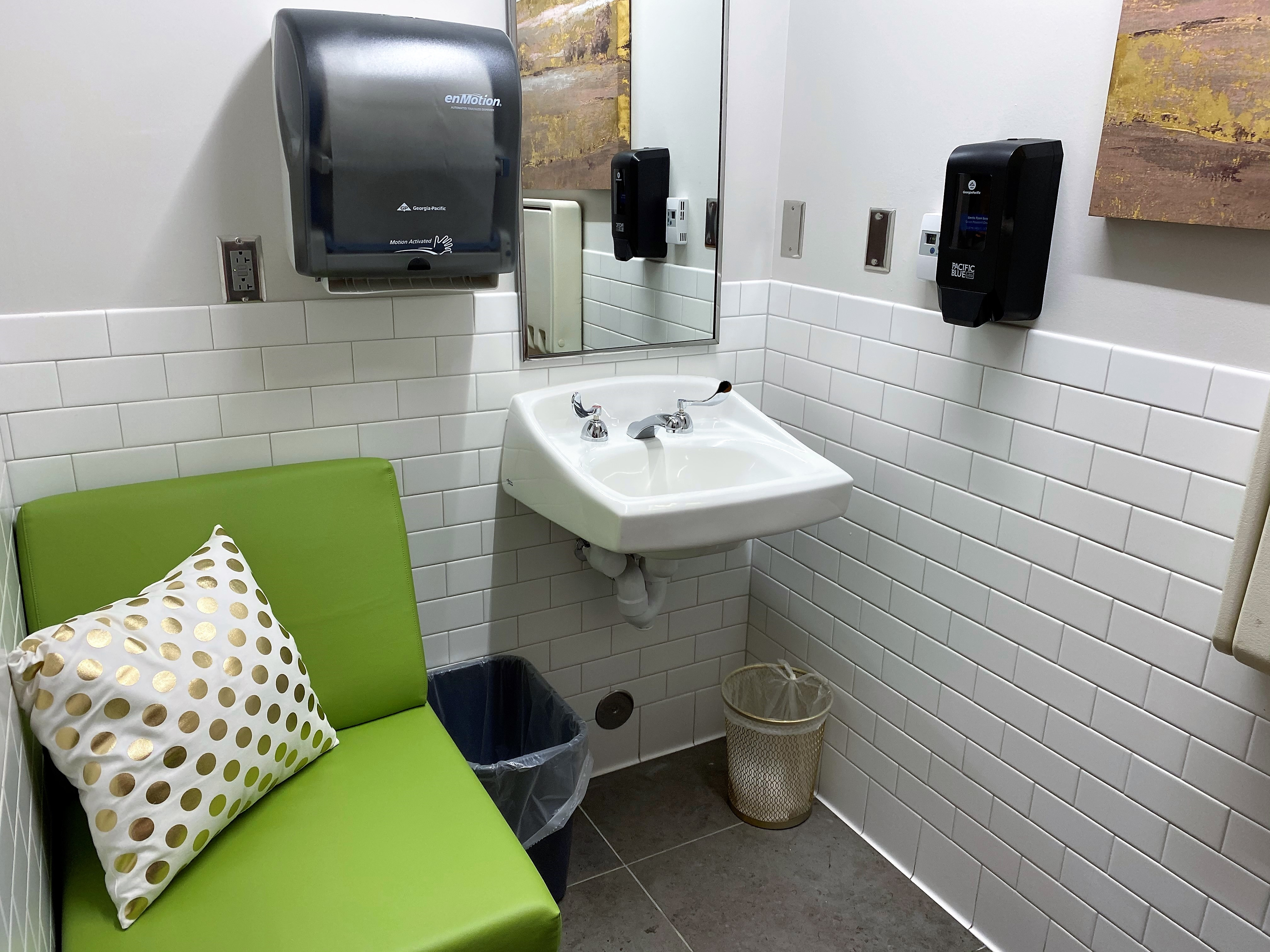 Photo of Doc Bryan Lactation Sink Area