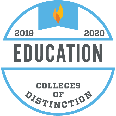 college of distinction awarded to college of education at ATU