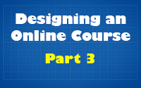 Course Design Video 3