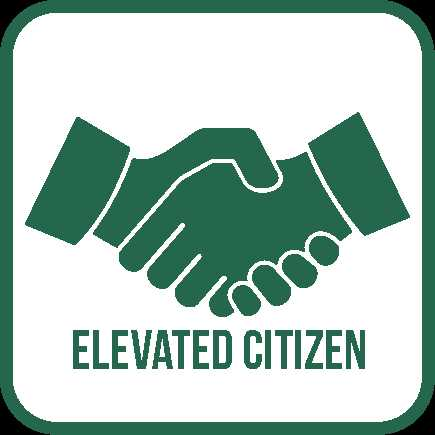 Elevated Citizen Icon