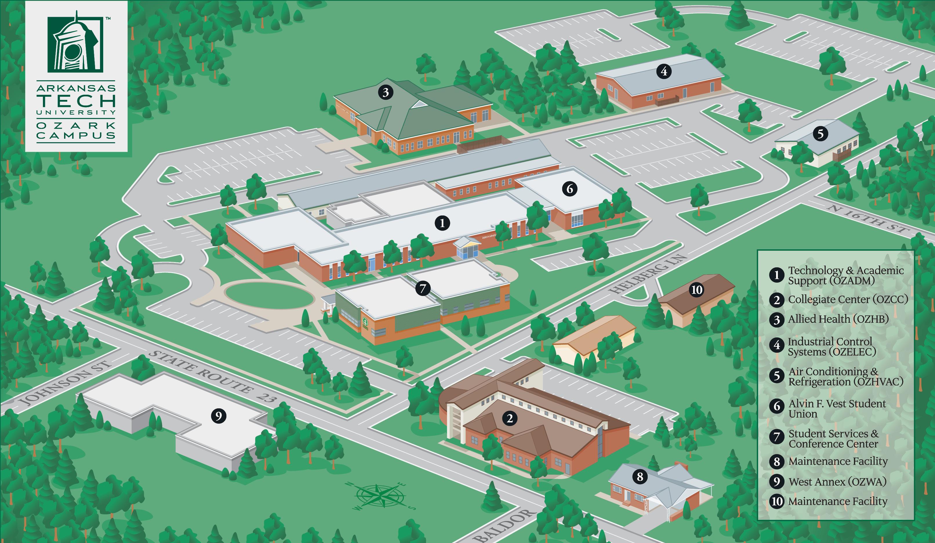 Visit Campus Arkansas Tech University