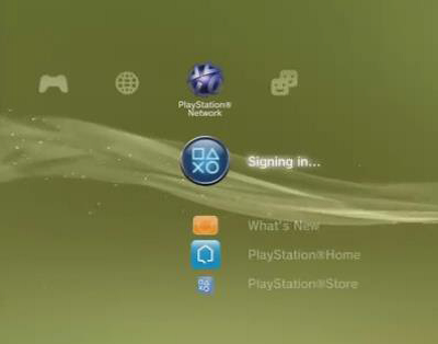 PS3 Sign In